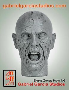 Gabriel Garcia Studios #31 Earnie Zombie 1/6 scale Resin Headsculpt Un-painted