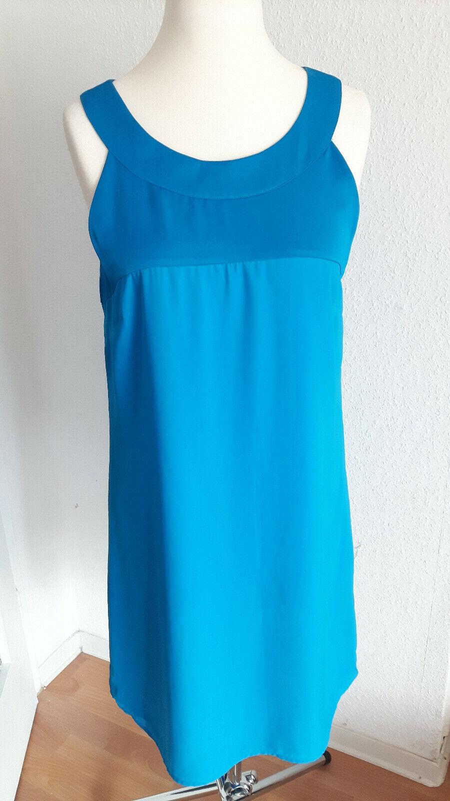 luftiges blaues kleid größe 40   ebay
