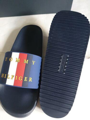 TOMMY HILFIGER Mens Slides BIG LOGO