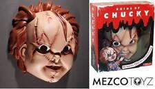 Maschera Chucky La Bambola Assassina Bride of Chucky Mask Adult size 1:1 Mezco