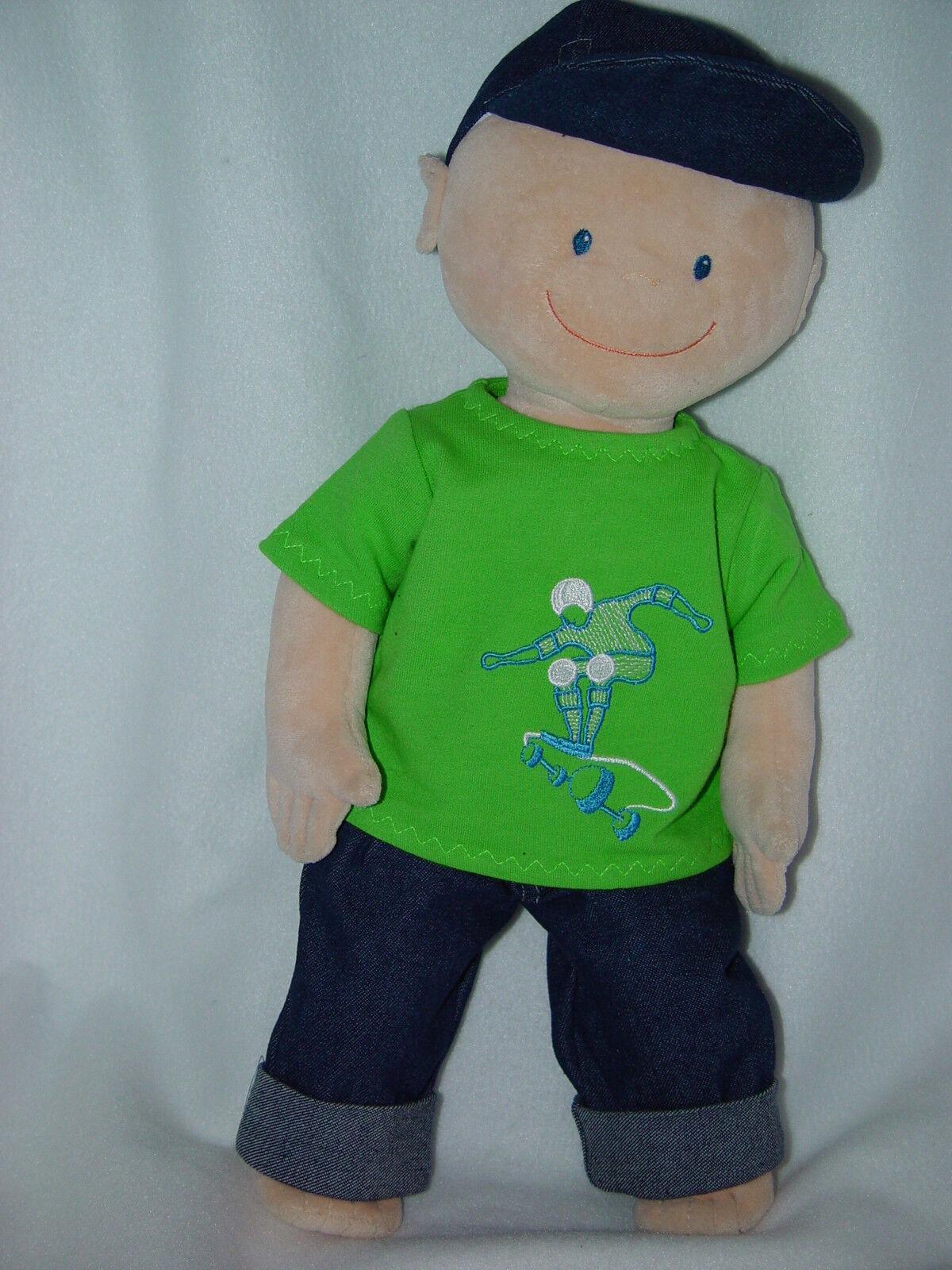 Puppenkleidung Kleidung für Set Krümel von JAKO-O Puppen 3-tlg. Set für 2a45dd