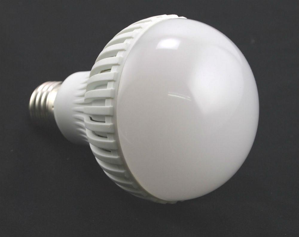 Lot of 6 - 110V AC 12W Cool White LED E27 Base 12 Watt Light Bulb