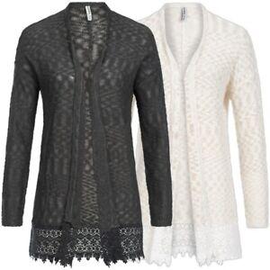sale retailer f2a36 a7a2f Sublevel Damen Long Cardigan Strickjacke | eBay