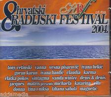 8. Hrvatski radijski festival 2004 CD Vanna Vesna Pisarovic Ivana Vlatka Pokos