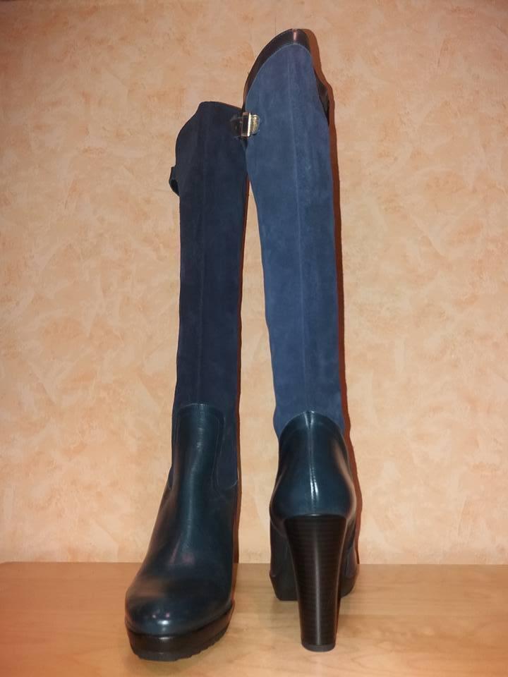 Zapatos casuales salvajes Alba moda con femenino botas con moda RV nuevo F en Marine & suave mixleder 3645a5