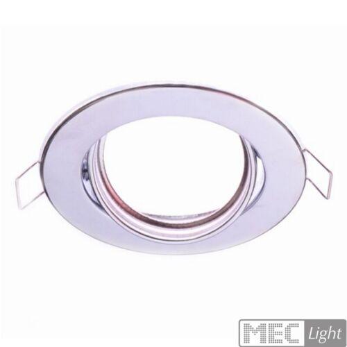 GU10//MR16 Einbaurahmen Deckenstrahler Einbaustrahler Einbauleuchte schwenkbar