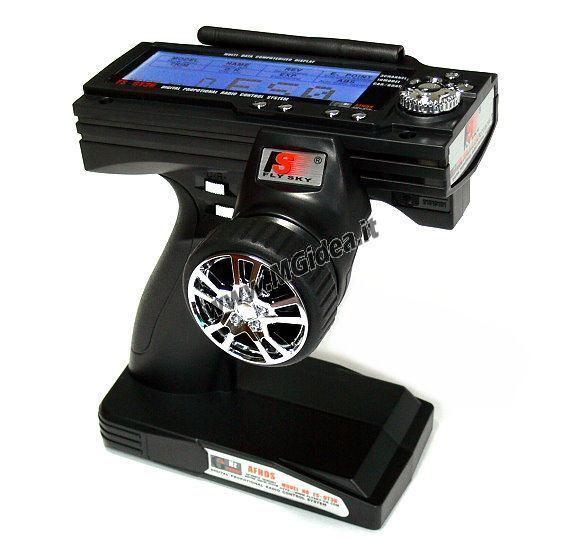 RADIOCOMANDO A VOLANTINO CCX PRO CCXPRO DIGITALE LCD AUTOMODELLI R/C  2,4 Ghz z