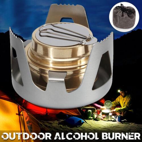 Mini Spiritusbrenner Outdoor Spirituskocher Alkohol Herd Campingkocher BBQ