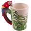thumbnail 7 - Animal Shaped Handle Ceramic Mug Tea Coffee Cup Novelty Gift Jungle Tropical