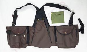 Falconry Codura Vest, Hawking, Hunting, Jungle, Wild Vest Brown (M,L,XL,XXL)