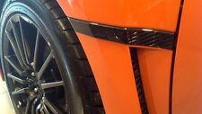 2011-2014 Subaru WRX JDM OEM Limited Black Fender Badge Emblem Garnish SET Pair