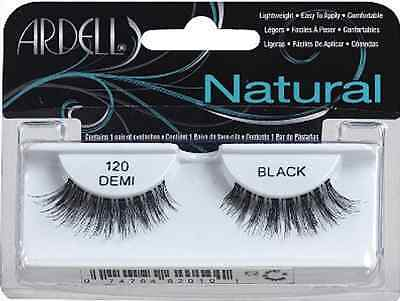 (LOT OF 10) Ardell Natural #120 DEMI False Fake Eyelashes Lash  Demi Wispies