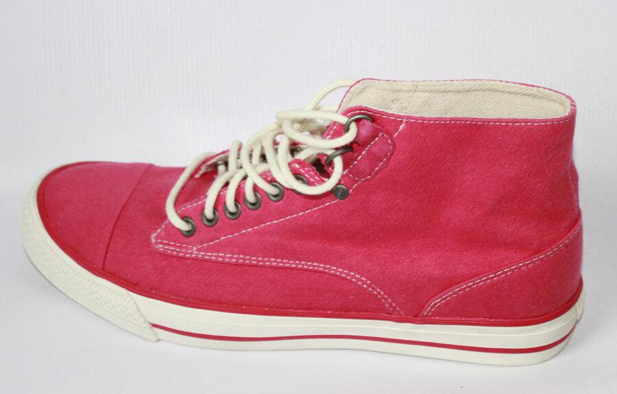 AUTH Diesel Women Persis Rubine Red Sneaker