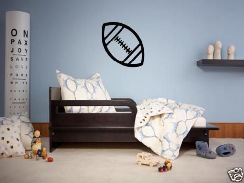 Football Boys Bedroom Nursery Kids Wall Art Decal Vinyl