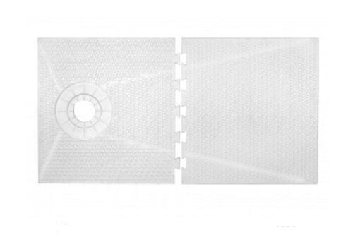 "TruGard 56/"" x 60/"" TruSlope Shower Tray OFF-SET"