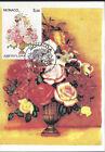 MONACO - CARTE MAXIMUM 1er JOUR - N° 1831 - BOUQUET de FLEURS