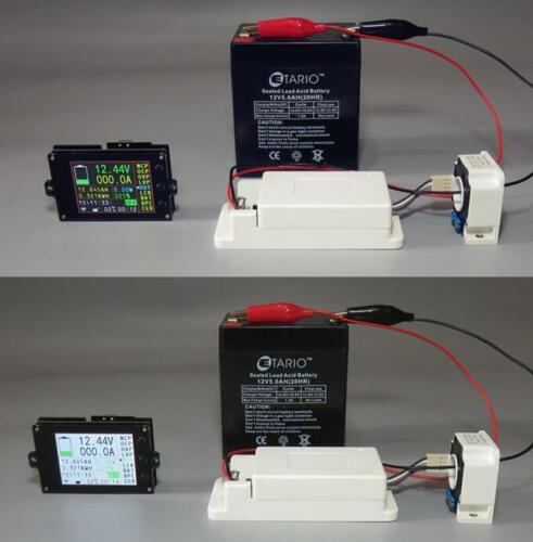 DC 120V 100A Volt Amp AH SOC Battery Monitor Wireless Meter Remaining Capacity