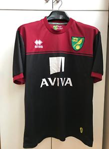 Norwich City FC away shirt jersey Errea 2014 2015 adult ...