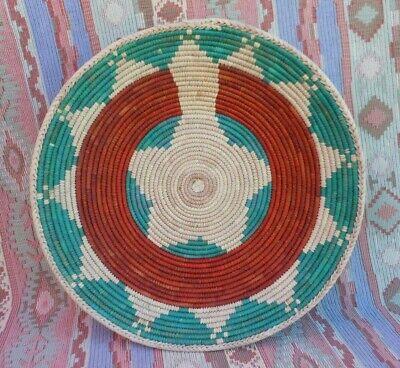 Southwest Style Basket  Southwest Decor  Tribal Decor  Southwestern Wall Decor