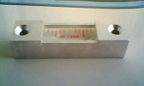 30s//2mm High Precision Aluminum Bar Level Bubble Levelling Instrument #J708 lx
