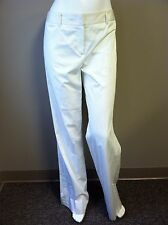 "NEW BCBG Max Azria Women's White ""Denise"" Tuxedo Pants Slim Fit Flare Size 10"