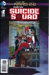 New-Suicide-Squad-Futures-End-1-New-52-DC-NM-3-D-Motion-Cover-HARLEY-QUINN