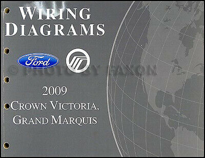2009 Crown Victoria and Grand Marquis Wiring Diagram Ford ...