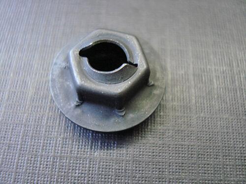 "10 pcs 3//16/"" Ford emblem name plate script black thread cutting nuts sealer"
