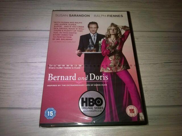 Bernard And Doris Susan Sarandon Ralph Fiennes Genuine R2 DVD New Sealed Rare