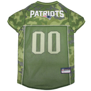 New-England-Patriots-NFL-Pets-First-Licensed-Dog-Pet-Mesh-CAMO-Jersey-XS-XL-NWT