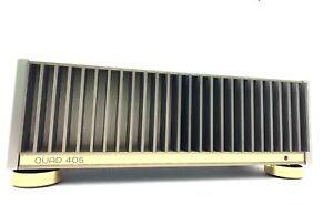 QUAD-405-STEREO-POWER-AMPLIFIER-200-Watts-RMS-Vintage-1984-Refurbished-Like-NEW