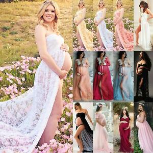 Umstandsmode Schwangere Schwangerschaftskleid Fotoshooting Cocktail Damenmode