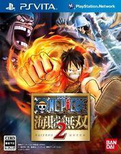 Used Sony PS Vita One Piece Kaizoku Musou 2 Pirate Warriors 2 Japan Import