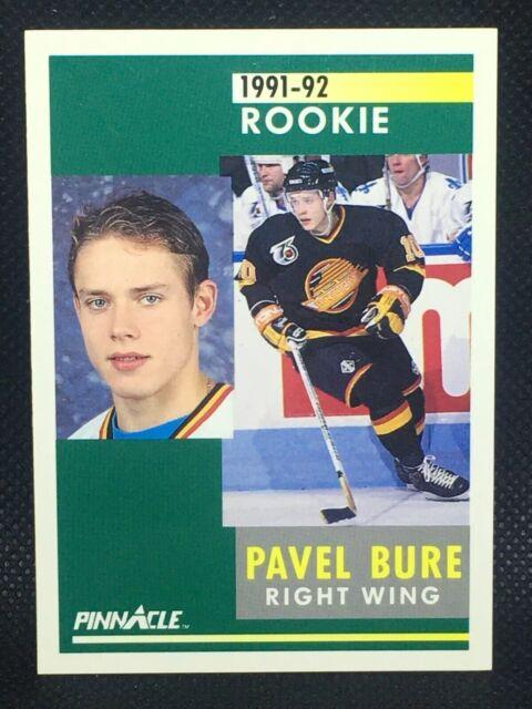 PAVEL BURE 1991-92 Pinnacle Rookie Card RC #315 Vancouver Canucks Rangers HOF