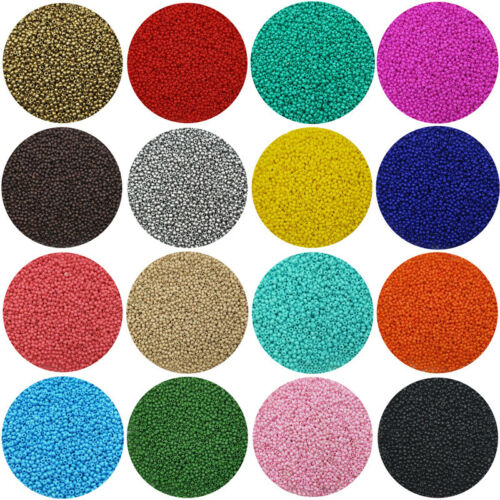 Lot of 2500pcs Economical 11//0 Rocaille 1.8mm Small Round Glass Loose Beads DIY