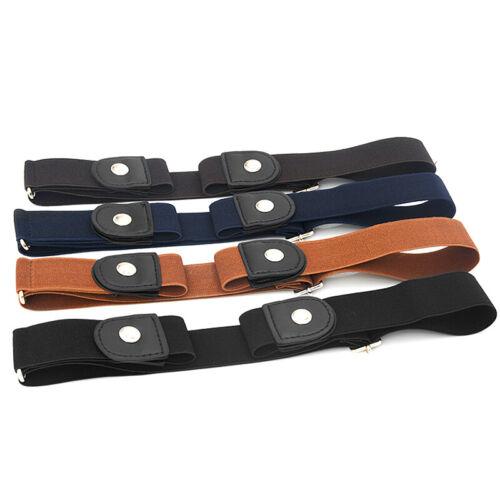 Unisex Gürtel elastisch ohne Schnalle unsichtbar verstellbarer Gürtel Bund  CBL