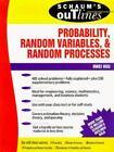 Schaum's Outline: Schaum's Outline of Probability, Random Variables, and Random Processes by Hwei P. Hsu (1996, Paperback)