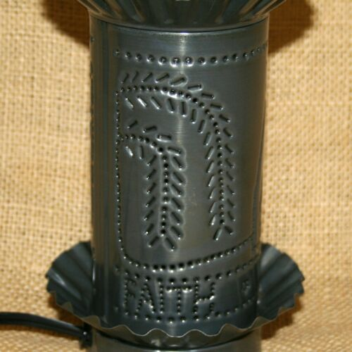 Church Willow Tree Punched Tin Electric Tart Warmer Irvin/'s Country Tinware
