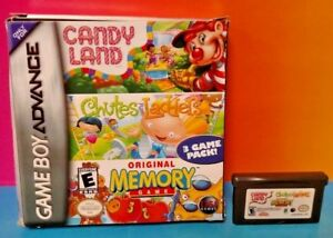 Candy-Land-Chutes-Ladders-Memory-Game-Game-Boy-Advance-Tested-Nintendo