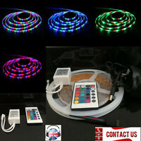 5M/10M 3528 60LEDs/m Flex LED Strip Light Bar Roll Rope Tape Home Kitchen Party