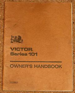 Victor 101 инструкция - фото 9