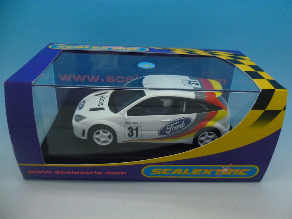 Scalextric C2427 Ford Focus White No.31