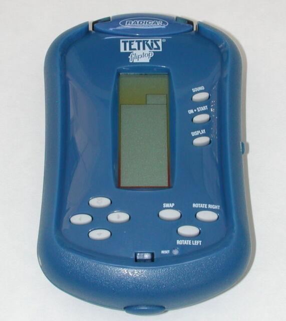 Radica Flip Top Electronic Tetris Handheld Game 2006 R4307 Ebay
