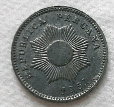 Beautiful! 14 Available! 1951 Peru 1 Centavo 1 Coin Only High Grade