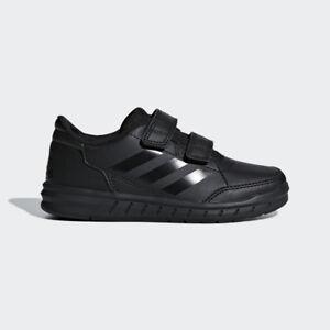adidas black school shoes