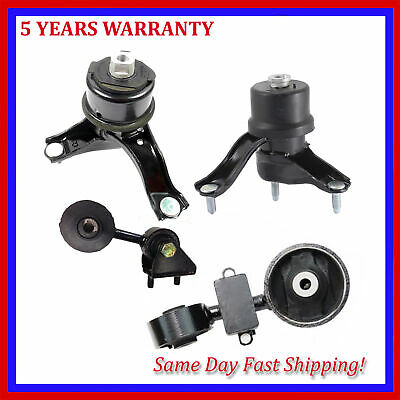 Engine Motor & Trans Mount For 4PCS 2007-2009 Toyota Camry ...