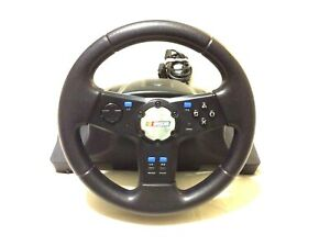 Logitech Playstation 2 Ps2 Nascar Racing Wheel Controller Replacement E X2a12 Ebay