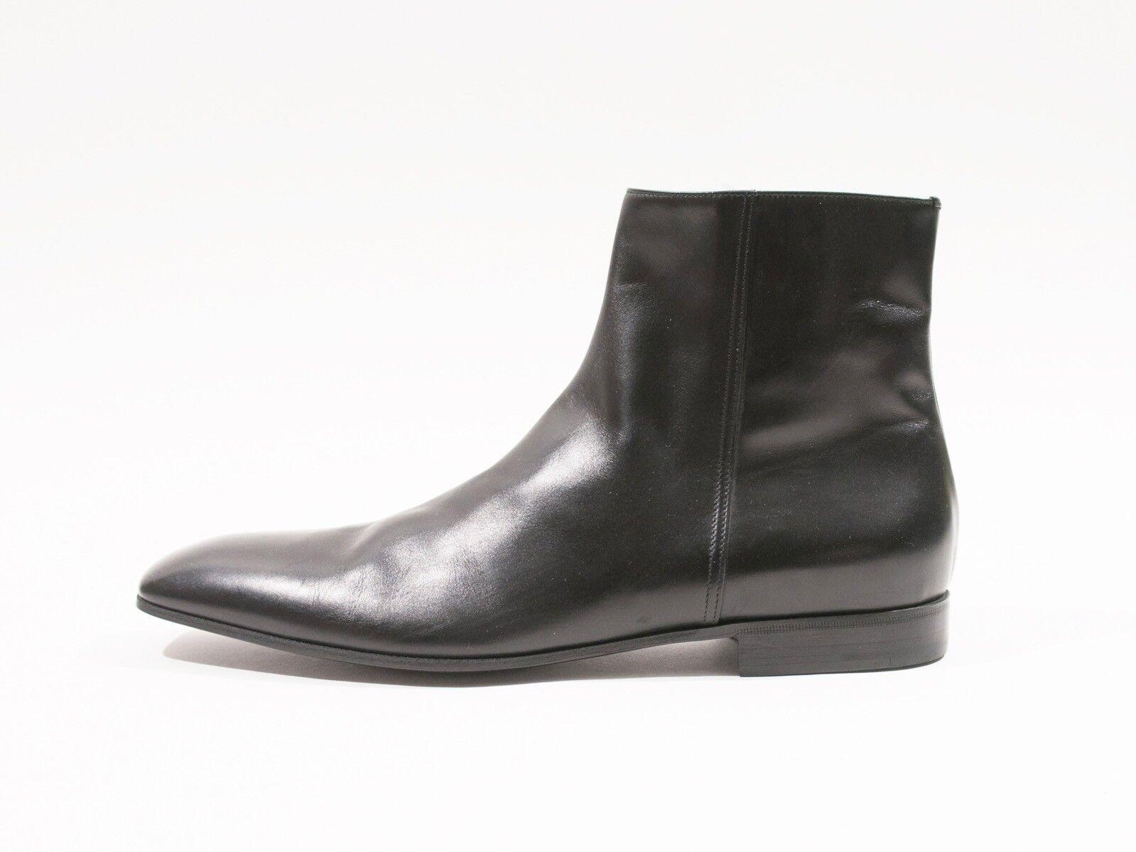 Prada NWT Black Chelsea Boots 10.5 9853