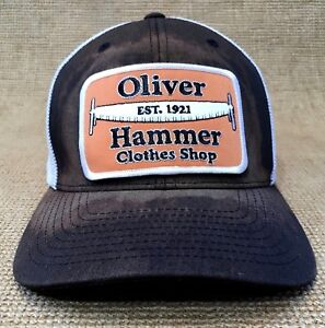 half off hot new products huge sale Details about OLIVER HAMMER CLOTHES SHOP Embroidered Patch Stretch Fit  Trucker Hat Ball Cap c6