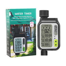 Digital Irrigation Timer With 3 Watering Programs And Rain Sensor Function NEW